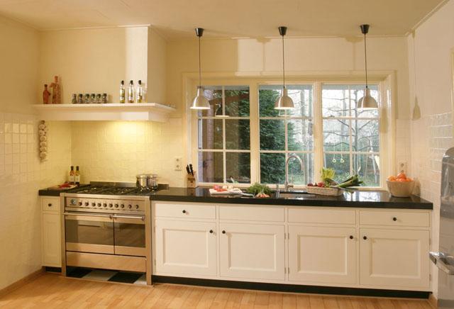 Cremekeuken2 640 436 keukens landelijke pinterest - Meubelen cottage berg ...